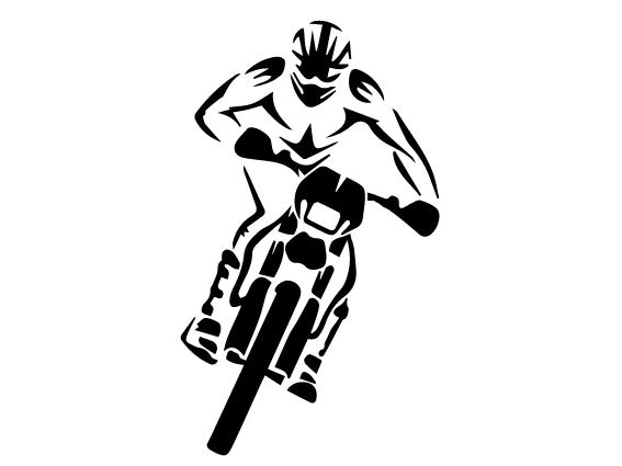 Rider-dirt-bike